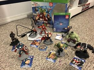 Xbox one Disney Infinity Marvel Super Heroes