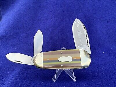 Disc FIGHT'N ROOSTER FRANK BUSTER & SON SUNFISH WHITTLER POCKET KNIFE 1 Of 50
