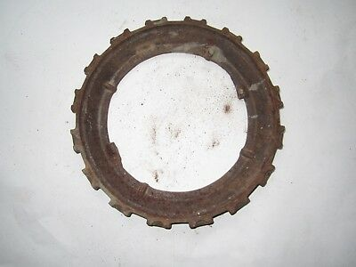 Vintage John Deere Cast Iron H694b Seed Planter Plates Rings Steampunk