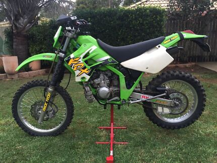 Kawasaki KDX200 Forest Lake Brisbane South West Preview