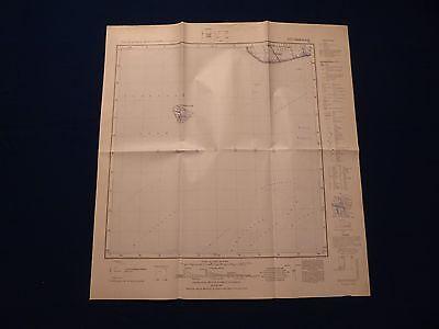 Landkarte Meßtischblatt 1517 Süderoog, Pellworm, Kreis Husum, von 1953