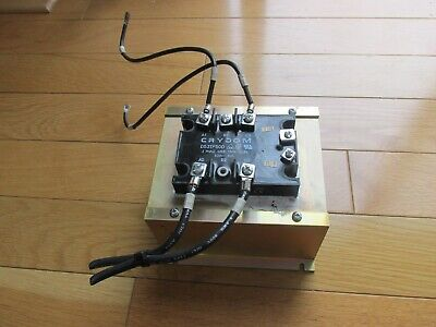 Crydom D53tp50d 3 Phase Solid State Relay 3-32vdc 50a 530v W Heat Sink Exc