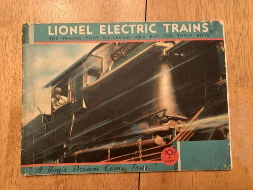 1932 Lionel Train catalog - Original Vintage