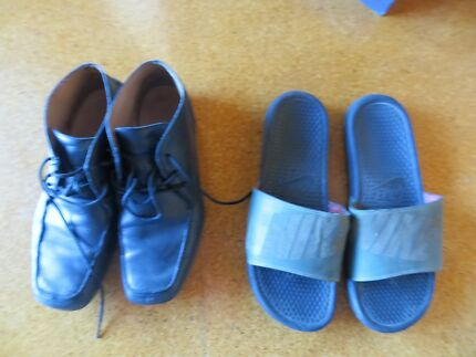 SHOES MENS 2 ASSORTED , GEOX RESPIRA LEATHER & NIKE    $  10 EACH