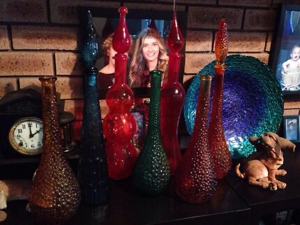 Genie bottles decanters various styles Craigie Joondalup Area Preview