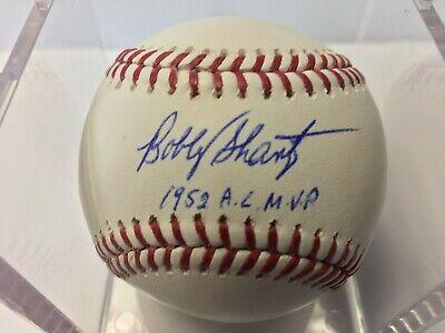 Bobby Shantz Autographed Official Major League Baseball Tristar (Bobby Shantz Autographed Baseball)