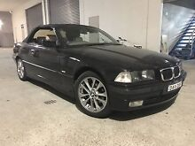 BMW 328i 1998 Highline Convertible Auto Low 167000 Klms Black Dural Hornsby Area Preview