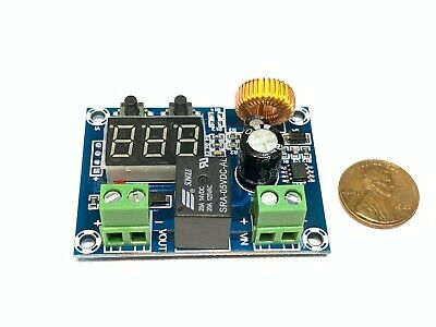 Xh-m609 Dc 12v-36v Voltage Protection Module Low Voltage Relay Under Voltage A36