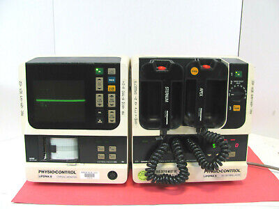 Physio-control Lifepak 8 Monitor Defib Good Working Free Shipping