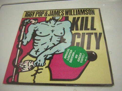 IGGY POP LP KILL CITY FACTORY SEALED 1977 GREEN VINYL JAMES WILLIAMSON