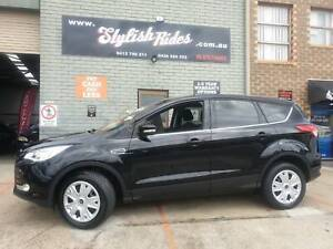 2014 Ford Kuga  Automatic SUV IN BLACK LOW KLMS MECH A1 $12990 FINANCE Slacks Creek Logan Area Preview