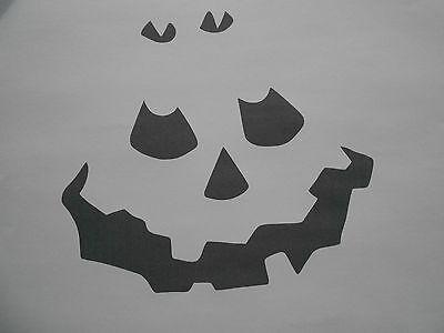 Auf Halloween (Schablone Halloween auf A4)