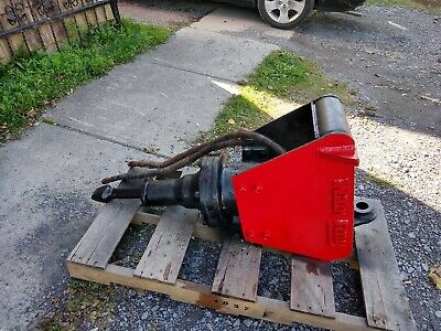 Hydraulic Breaker Hammer Excavator Backhoe Wain Roy Quick Attach 1 34 Pin
