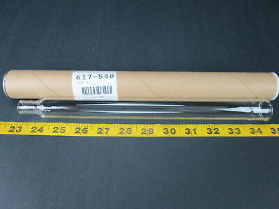 Leco Corp New 11 12 Glass Heater Tube Part No 617-548 T