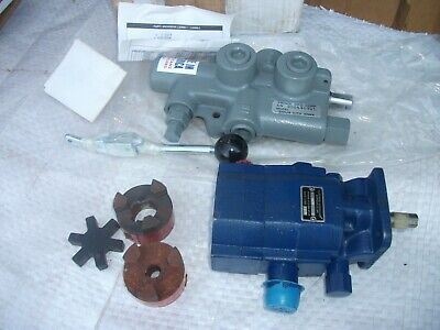 Hydraulic Log Splitter Kit Northern Pump 1056 And Control Never Used