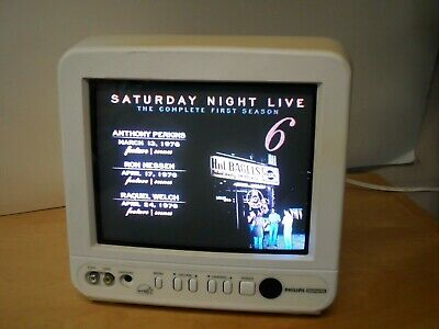 "Philips Magnavox PR0930X 9"" Television GAMER BNC Antenna Composite Video Input"