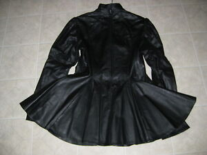 LEATHER DRESS. MINT CONDITION