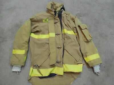 Morning Pride Fire Fighter Turnout Jacket Size 46 1003 Bunker Gear Mayfield