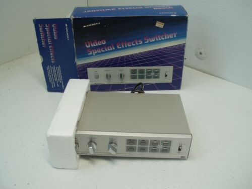 Archer 15-1274 Video Special Effects Switcher RARE