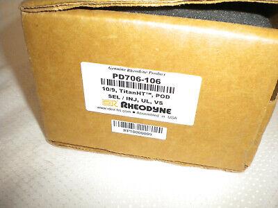Lotof Two 2 Rheodyne Pd706-106 109 Titanht Pod