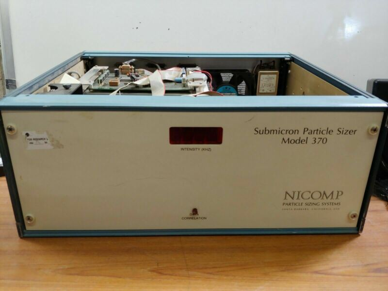 NICOMP - Submicron Particle Sizer Model 370 - Parts or Repair