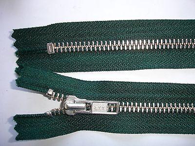RV 354 Reißverschluß ykk dunkelgrün 20cm, nicht teilbar 2 Stück