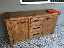 Industrial Timber Buffet Heathwood Brisbane South West Preview
