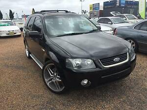 Ford Territory 2005 - SX TX Wagon AWD  6cyl 4.0L , Sport Auto 4sp Harris Park Parramatta Area Preview