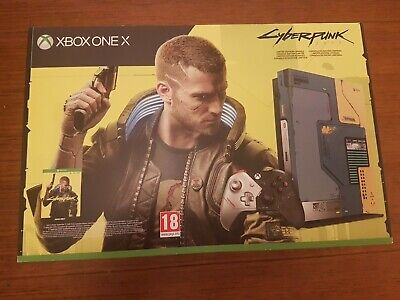 Microsoft Xbox One X Limited Edition Cyberpunk 2077 Console - Only 45000 Made