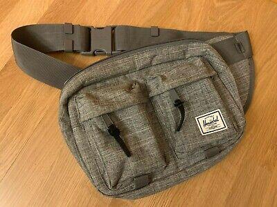 Herschel Supply Co. Eighteen 18 Chest Crossbody Sling Bag Hip Fanny Pack Grey