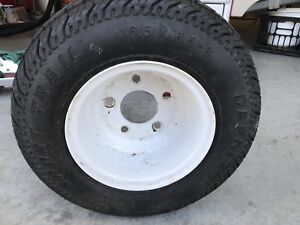 16.5 x 6.5-8 Tire and Rim