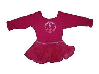 Girls Pink Black Leotards Jacques Moret 3-5Y FB 4-6Y Danskin 4-5Y 6-6X 7-8Y