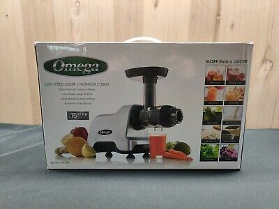 Omega Cnc80s High Power Electric Commercial Masticating Juicer Fruit Vegetable