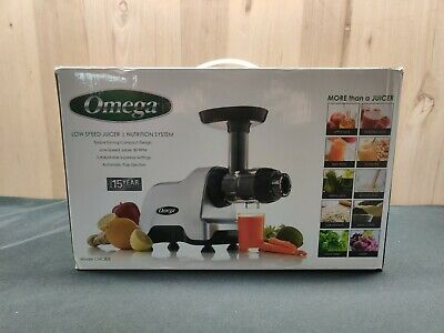 Omega Cnc80s High Power Electric Commercial Masticating Juicer Fruit Vegetable
