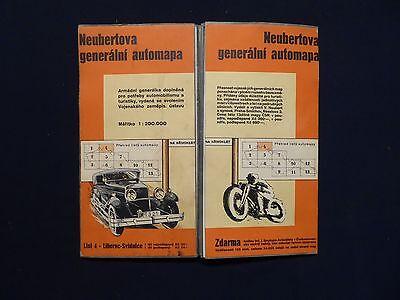 Neubertova generálni automapa Nr.4 Liberec (Reichenberg) Svidnice (Schweidnitz)