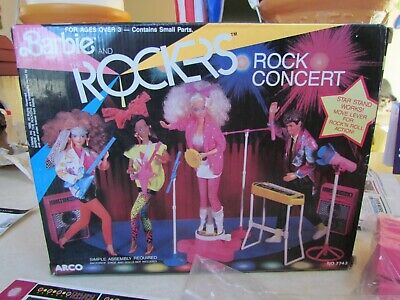 1986 Barbie and The Rockers Rock Concert ~ New!