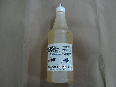1 Quart Of Mobil Velocite Spindle Oil 6 Bridgeport Mill Hardinge Lathe
