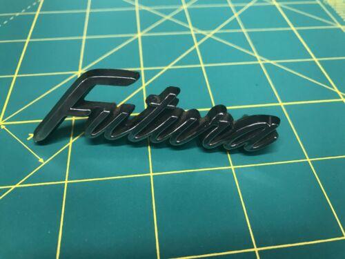 1968 Ford Falcon Futura Emblem Glove Box Trim 68 Chrome MD 10910