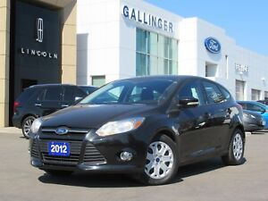 2012 Ford Focus SE w/HEATED SEATS AND NEW FRONT BRAKES