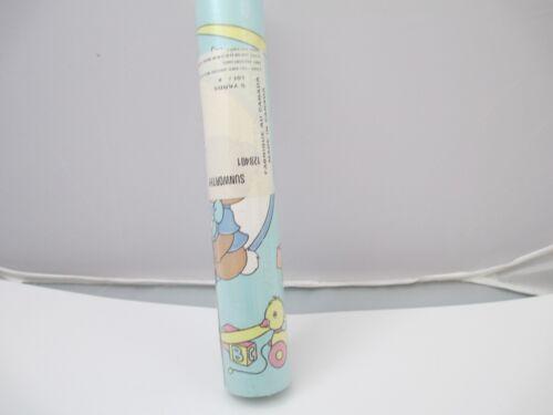 Vintage Precious Moments wall paper boarder single roll Nursery Decor
