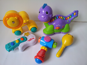 LeapFrog Musical Lettersaurus,  2 Fisher price toys and others Wantirna Knox Area Preview