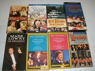 Used, Lot of Bill Gaither Homecoming Gospel Music VHS Videos for sale  Elizabethtown