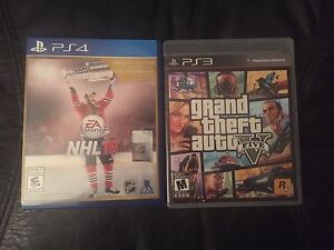PS4 & PS3 games in mint condition