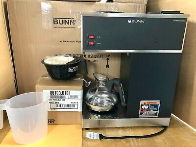 Bunn 12 Cup Coffee Maker 33200.0002vprblk W1 Easypour Decanter 2 Warmers Nob