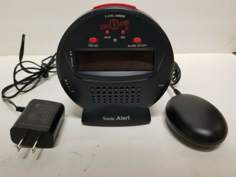 Sonic Boom Alarm Clock | Extra Loud | With External Bed Shaker | Working
