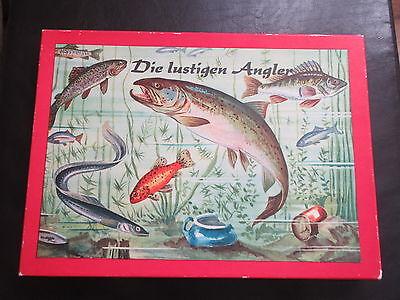 Die lustigen Angler-Aquarium-Fische-DDR Spielzeug