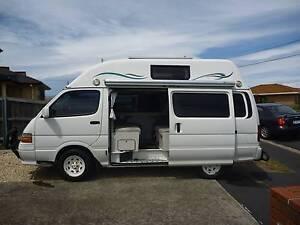 2000 Toyota HiAce HiTop Campervan Sorell Sorell Area Preview