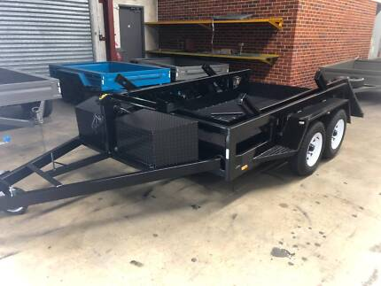 Drop Deck Plant Trailer Welshpool Canning Area Preview