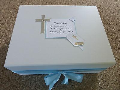 - First Holy Communion Memory Keepsake Box Personalised Bereavement condolence