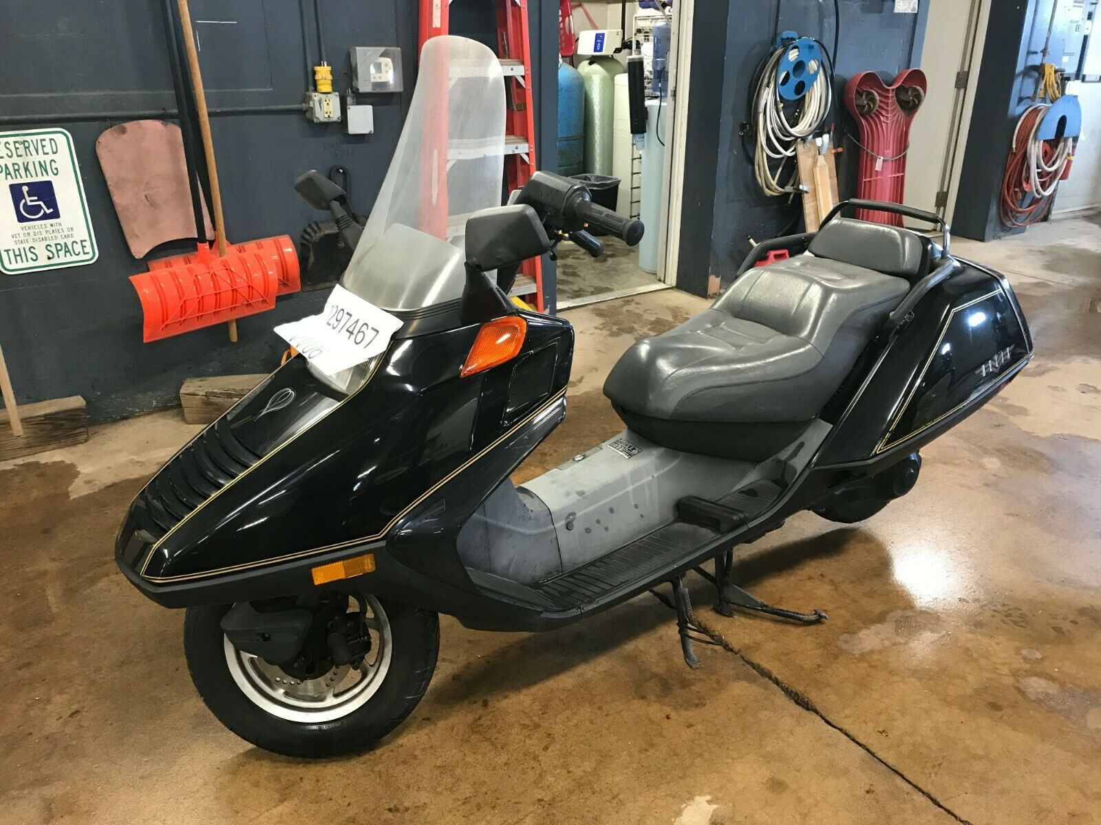 1994 Honda Helix Moped T1297467